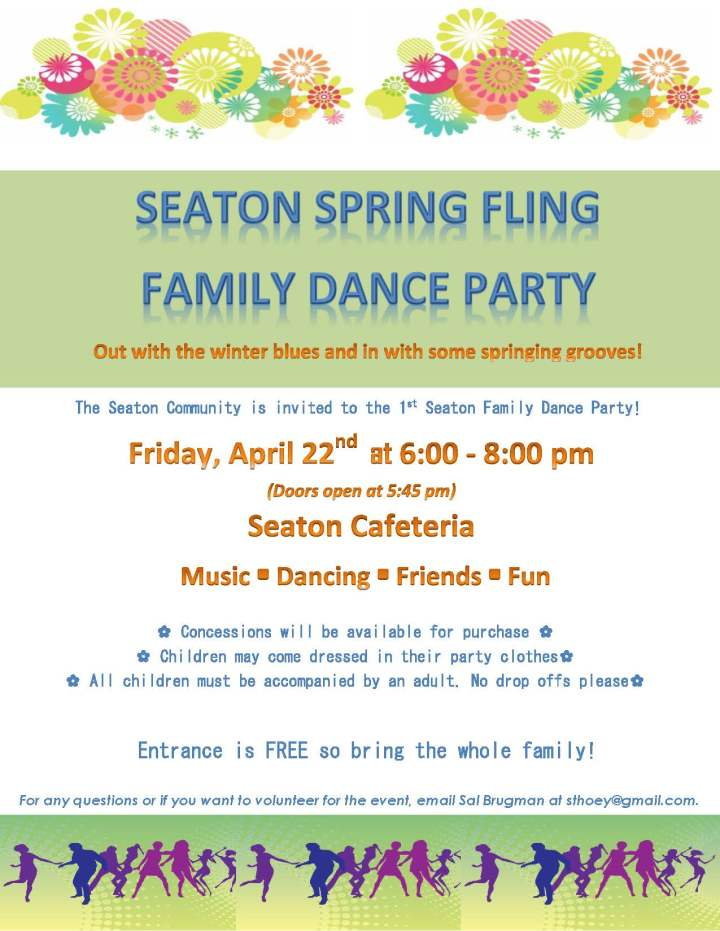 Seaton Spring Fling Dance Party