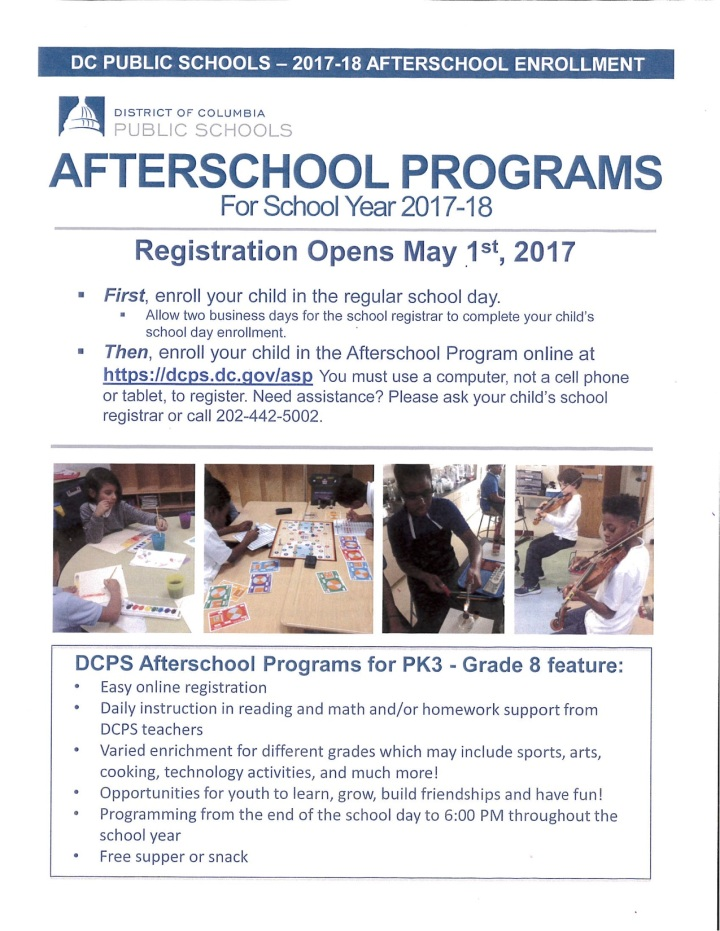 Afterschool Enrollment