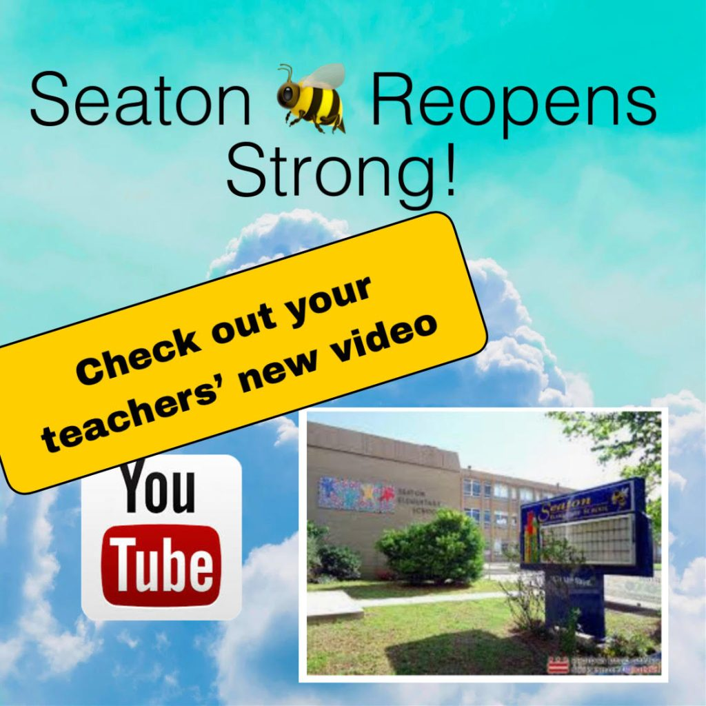 PTO News: Reopen Strong at Seaton!